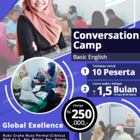 Kursus Bahasa Inggris Batam-Conversation Camp